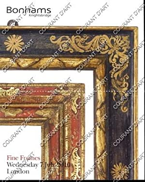 FINES FRAMES. [LOUIS XIV CARVED GILDED FRAME. SPANISH 17TH CENTURY CARVED SILVERED AND POLYCHROED...
