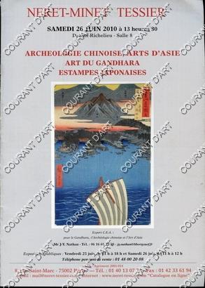 ARCHEOLOGIE CHINOISE. ARTS D'ASIE. ART DU GANDHARA.: DROUOT-RICHELIEU SALLE 8