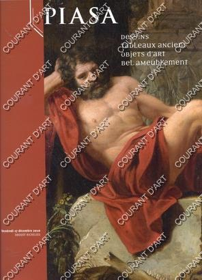 DESSINS. TABLEAUX ANCIENS. OBJETS D'ART. BEL AMEUBLEMENT.: DROUOT RICHELIEU SALLE