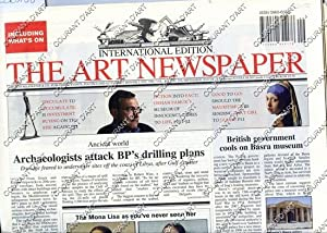 THE ART NEWPAPER. INTERNATIONAL EDITION. UMBERTO ALLEMANDI & CO. PUBLISHING EVENTS POLITICS AND E...