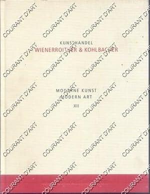 KUNSTHANDEL. WIENERROITHER & KOHLBACHER. MODERNE KUNST. MODERN: PAR N. SCHAFFER.