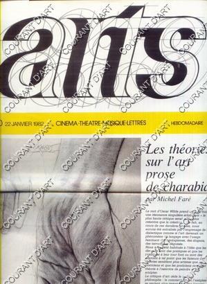 ARTS. N°50 / 22 JANVIER 1982 /: PAR MICHEL FARE.