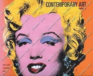 CONTEMPORARY ART, PART I. [SHERMAN. KOONS. KELLEY.: YORK AVENUE