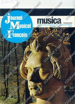 MUSICA. JOURNAL MUSICAL FRANCAIS. NOVEMBRE 1967. N°163.