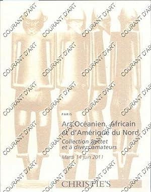 ART OCEANIEN, AFRICAIN ET D'AMERIQUE DU NORD.