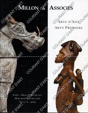 ARTS D'ASIE. ARTS PREMIERS. [MASQUE DE NO.: DROUOT RICHELIEU. SALLE