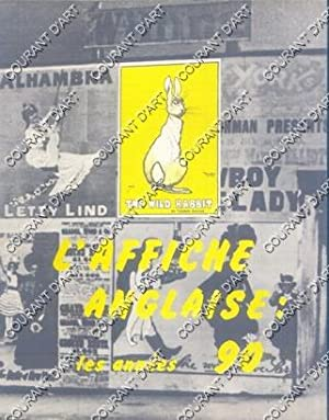 L'AFFICHE ANGLAISE. LES ANNEES 90. 15/06/1972-25/09/1972. TOM MERRY. DUDLEY HARDY. JOHN HASSAL. B...