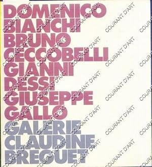 DOMENICO BIANCHI, BRUNO CECCOBELLI, GIANNI DESSI, GIUSEPPE: PAR A. BONITO