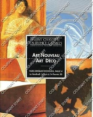 ART NOUVEAU - ART DECO. LA COLLECTION: DROUOT RICHELIEU. SALLE