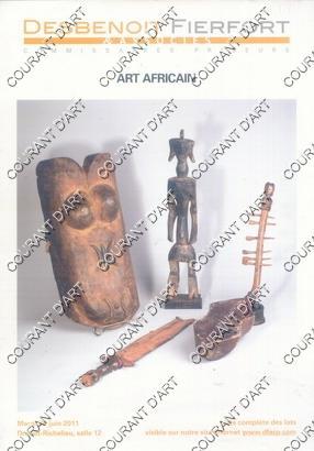 ART AFRICAIN. [PUNU. LUBA HEMBA. BOA. MAMBILA.: DROUOT RICHELIEU. SALLE