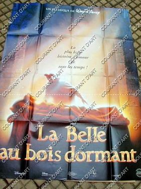 AFFICHE DE CINEMA : BELLE AU BOIS DORMANT (LA) (Animation, , , ) - 1969. FORMAT : 120x160. (Weigh...