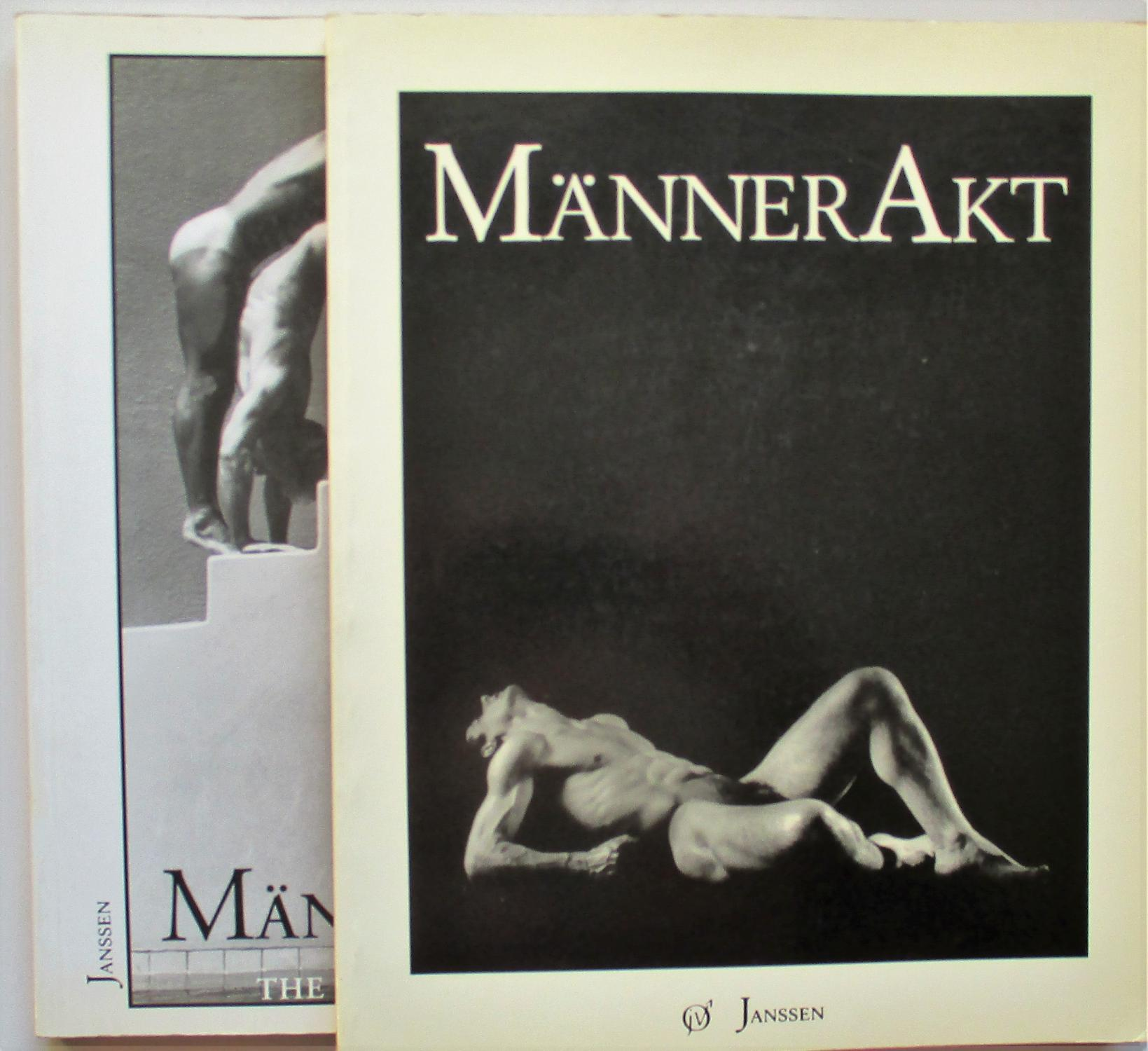 MANNER AKT - MANNER AKT 2 (The male nude: Il nudo maschile). Janssen Volker (cur.) Very Good Softcover