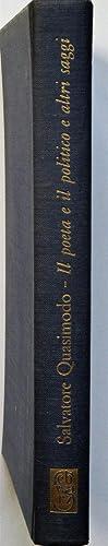 Il poeta e il politico e altri: QUASIMODO SALVATORE (1901-68)