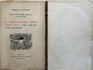 Le faville del maglio. (Raccolta di prose: D'ANNUNZIO GABRIELE (1863-1938)