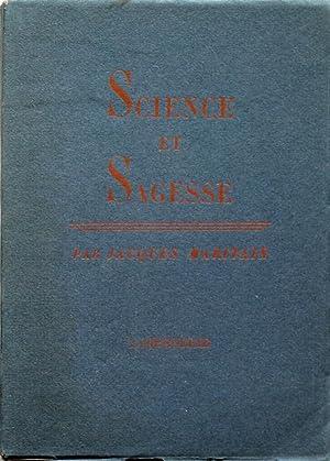 Science et Sagesse; suivi d'eclaircissements sur la: MARITAIN JACQUES (1882-1973)