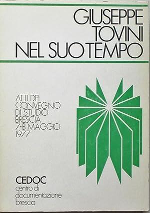 GIUSEPPE TOVINI NEL SUO TEMPO.: TOVINI GIUSEPPE (1841-97)