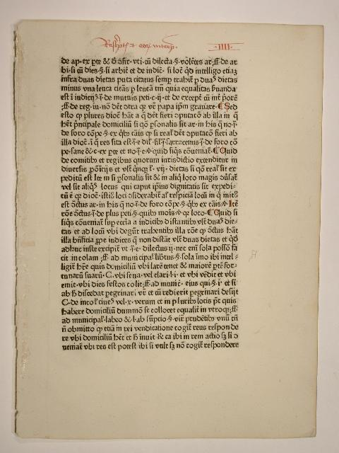 Summa super Decretalibus (GW 12232, H 8961).: Henricus Hostiensis; Johannes