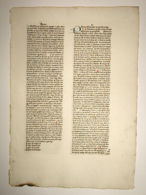 Sermones quadragesimales de legibus, Sermo 41 (21).: Leonardus de Utino: