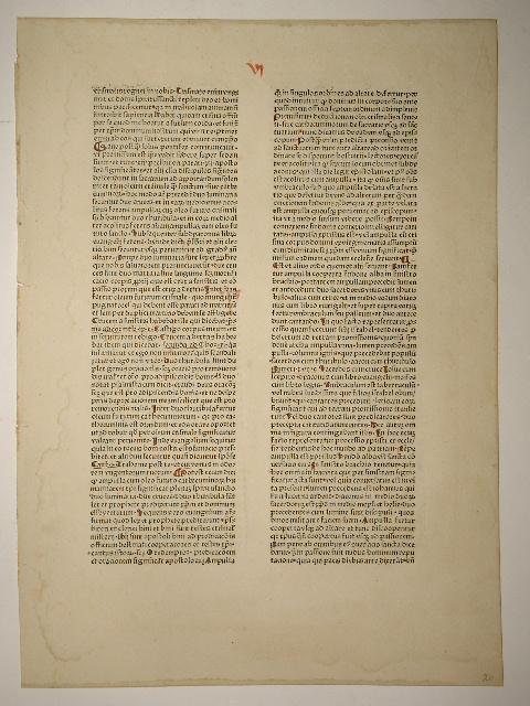 Rationale divinorum officiorum. (GW 9111, HC 6463).: Guillelmus Duranti: