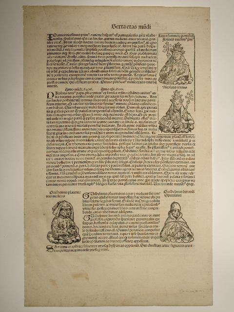 Liber chronicarum (Holzschnitte von Michael Wolgemut und: Hartmann Schedel: