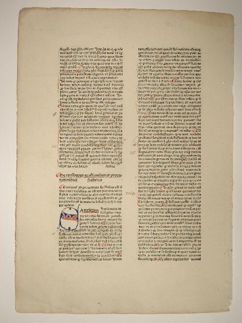 Super libros Decretalium 3 (Blatt 235). De: Nicolaus de Tudeschis: