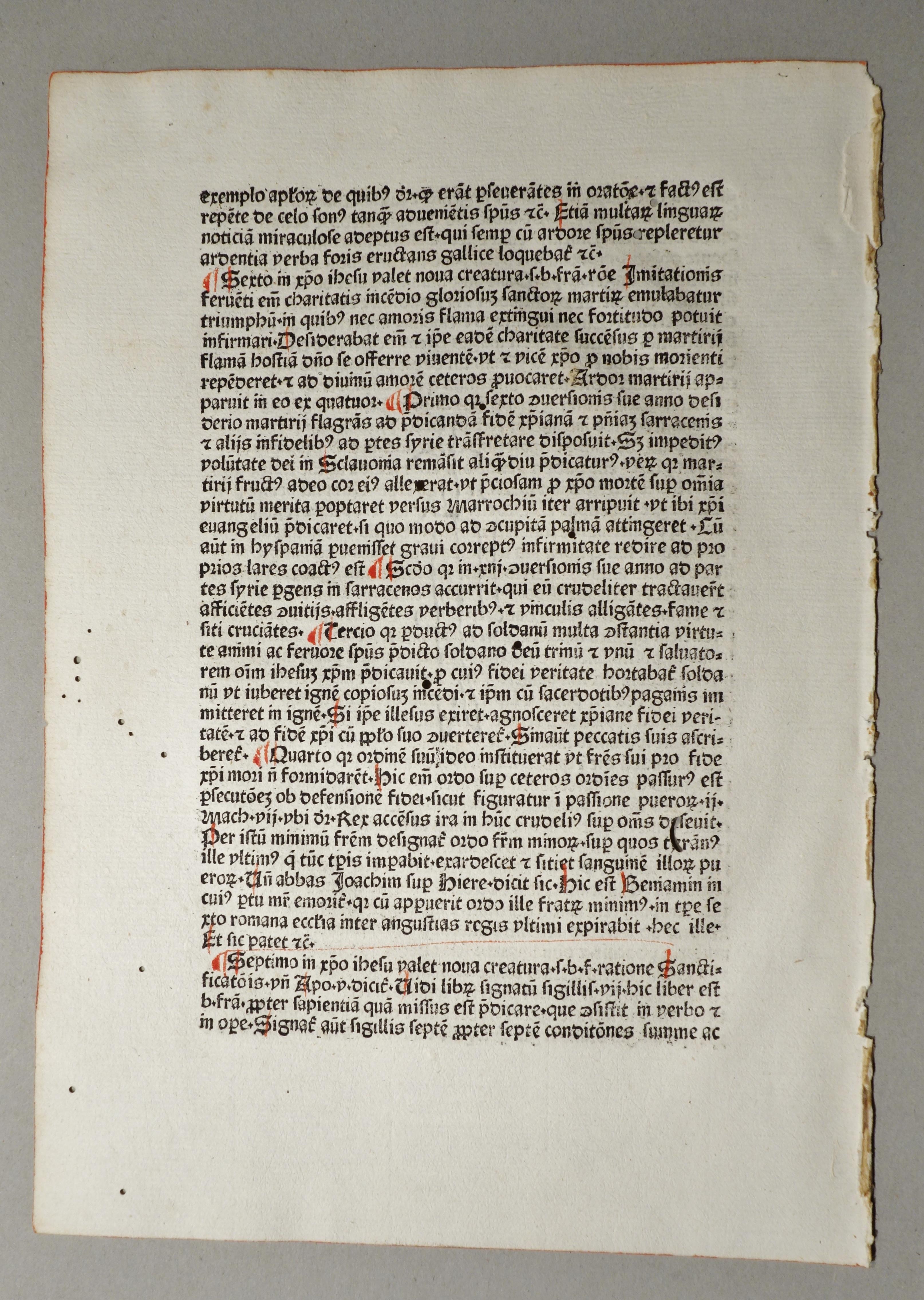 Sermones aurei de sanctis. (GW M17901, H: Leonardus de Utino