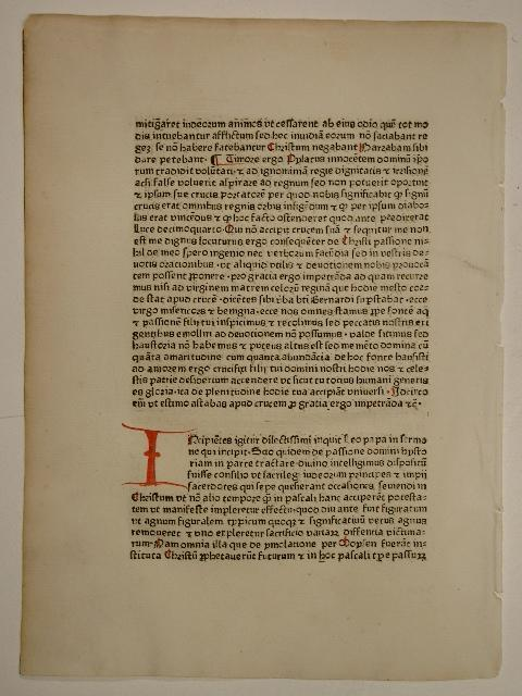 Sermones dominicales super epistolis (GW 9173, HC: Thomas Ebendorfer: