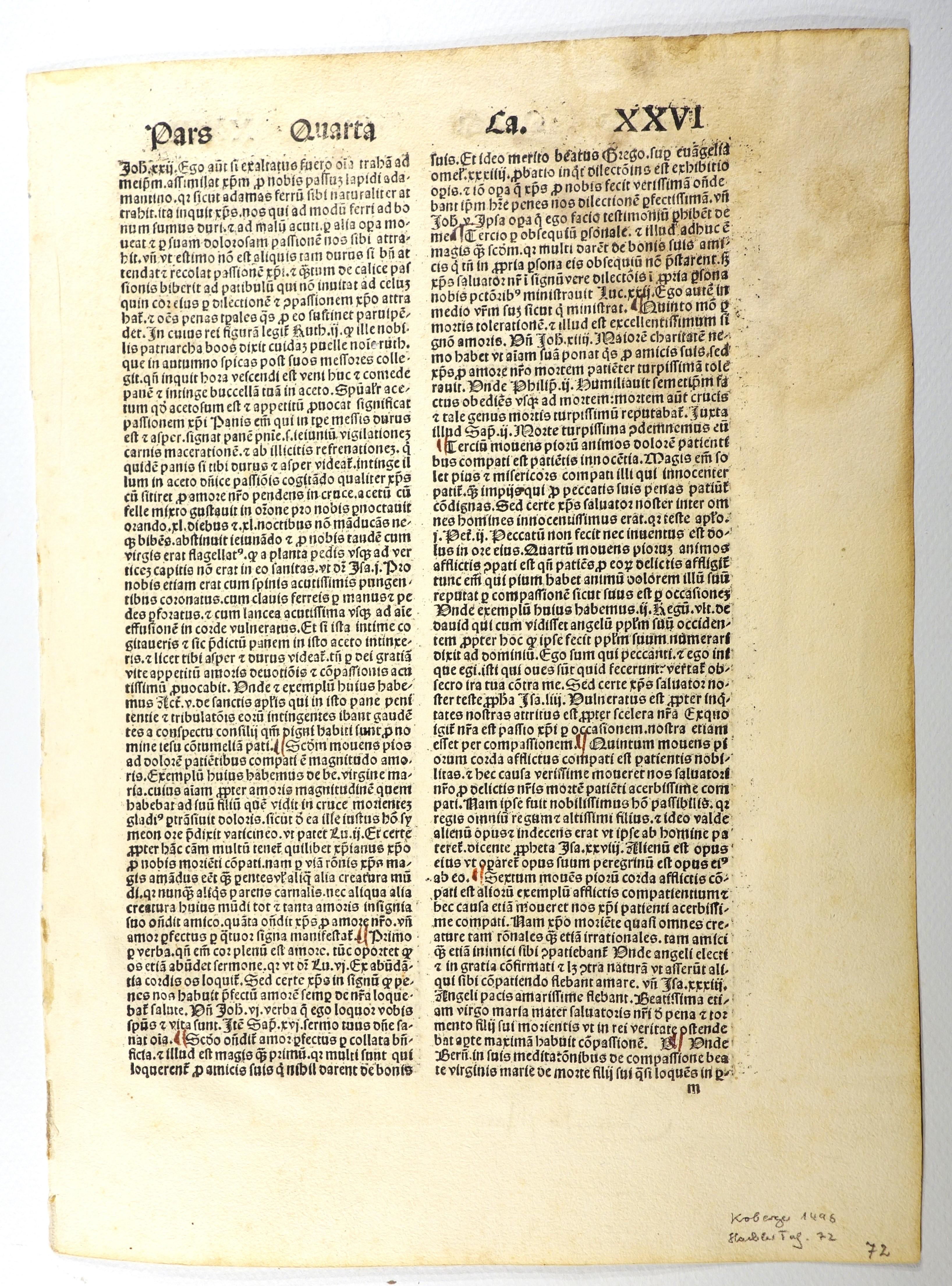 Destructorium vitiorum (GW 867, Hain 652).: Alexander Carpentarius: