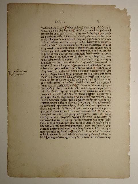 Rationale divinorum officiorum. Liber I, EO (Folium): Guillelmus Duranti: