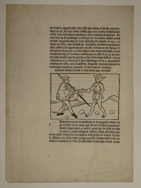 Belial sive Consolatio peccatorum, franz. Übers. Pierre: Jacobus de Theramo:
