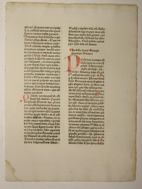 Sermones aurei de sanctis (GWM 17884, H: Leonardus de Utino: