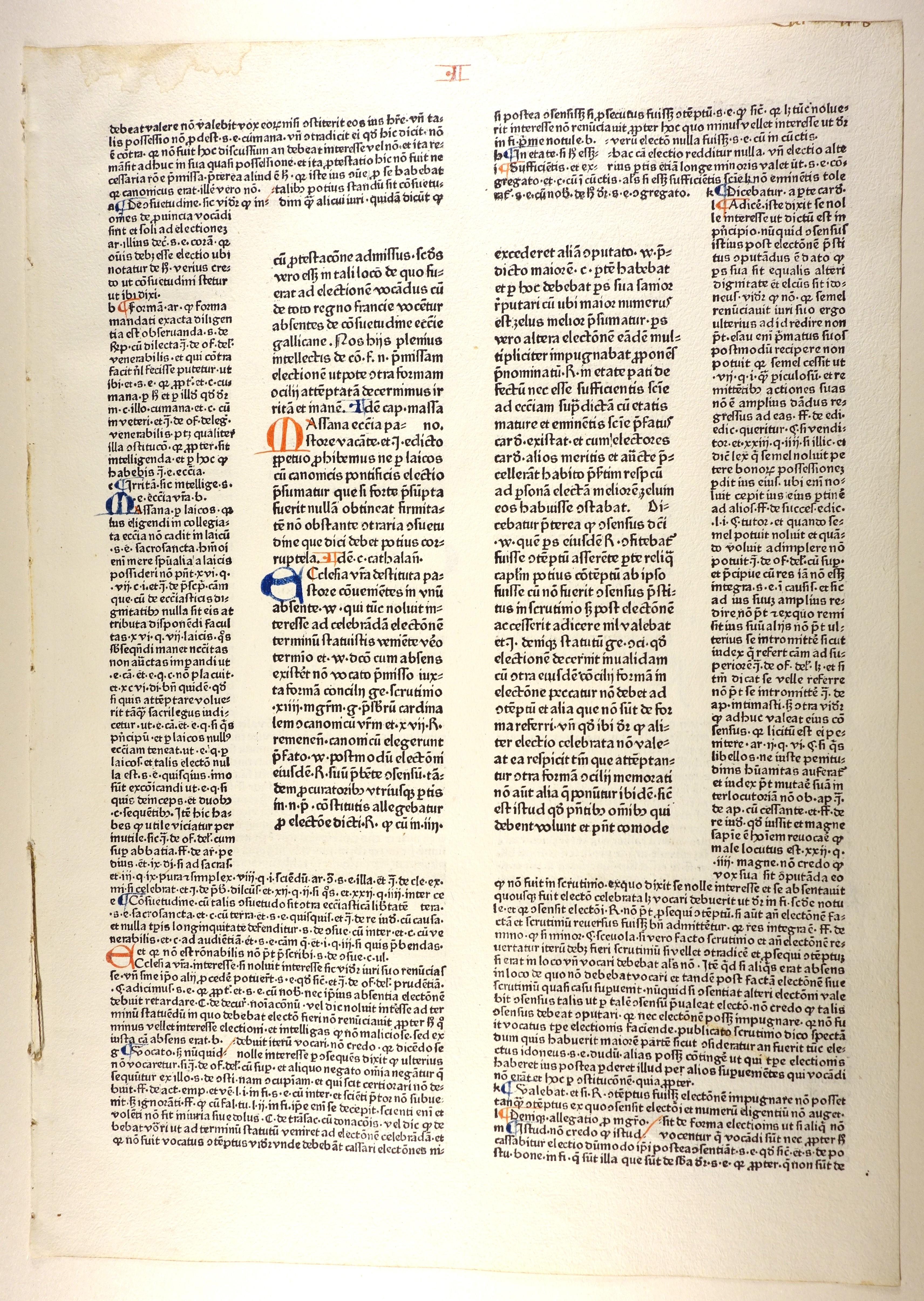 Decretales. Mit der Glosse des Bernardus Parmensis.: Papst Gregor IX.: