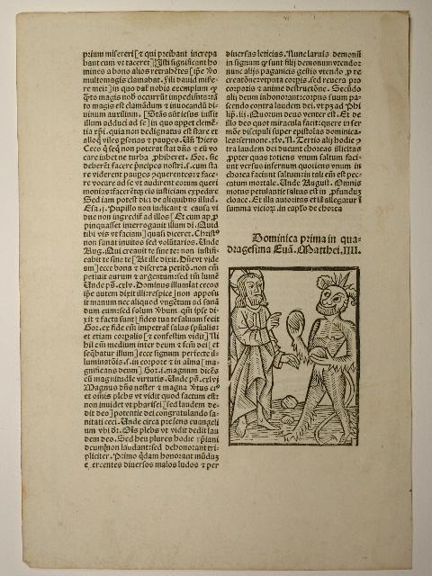 Postilla super epistulas et evangelia. (H 8279,: Guillelmus (Guilelmus) Parisiensis