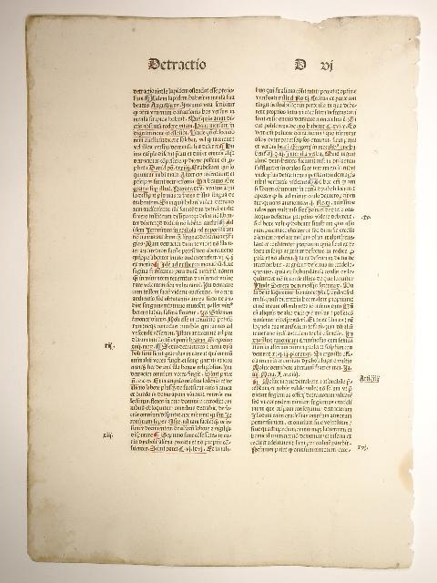 Summa praedicantium. (GWM 13114, HC 3993): Johannes de Bromyard: