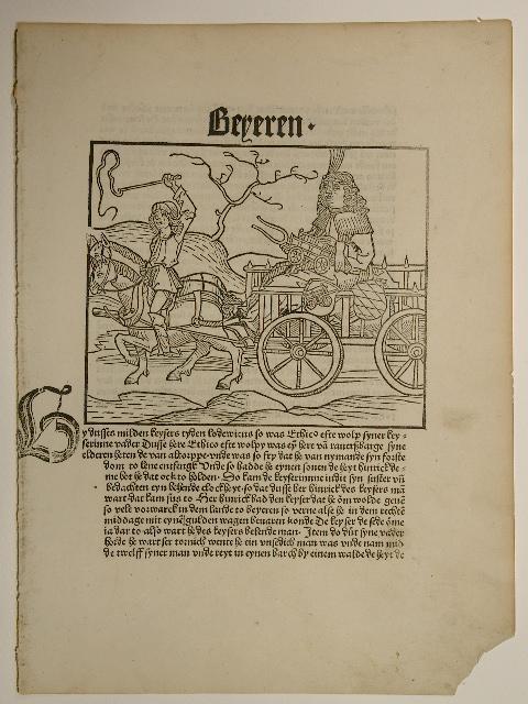 Cronecken der Sassen. (GW 4963, HC 4990).: Konrad Botho: