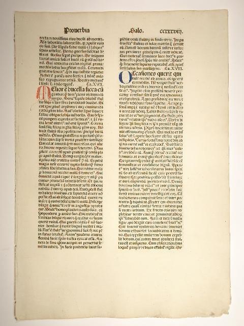 Biblia. Blatt CCXXXVIII. (GW 04239, HC 3072).
