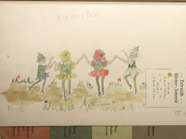10 Zeichnungen und 20 Aquarelle der Kinderbuchkünstlerin.: Elfriede Prasse (1914-2002):