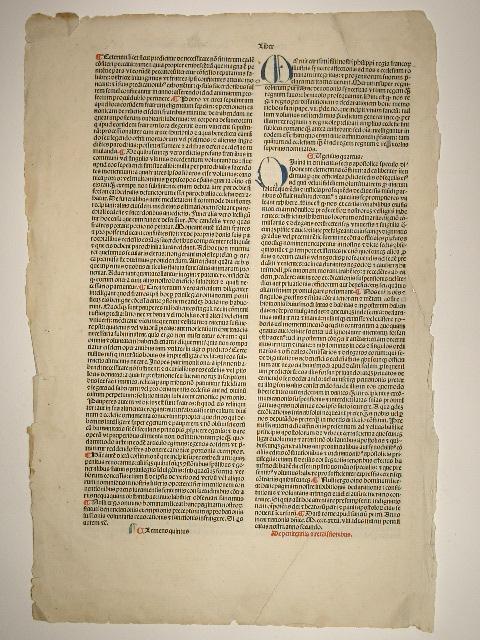 Constitutiones: Decretales extravagantes communes selectae (GW 4897,: Papst Clemens V.:
