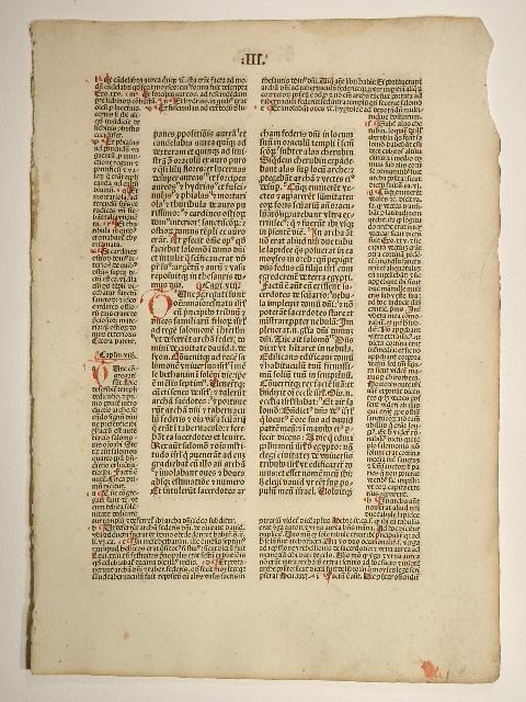 Biblia mit Postilla des Nicolaus de Lyra.