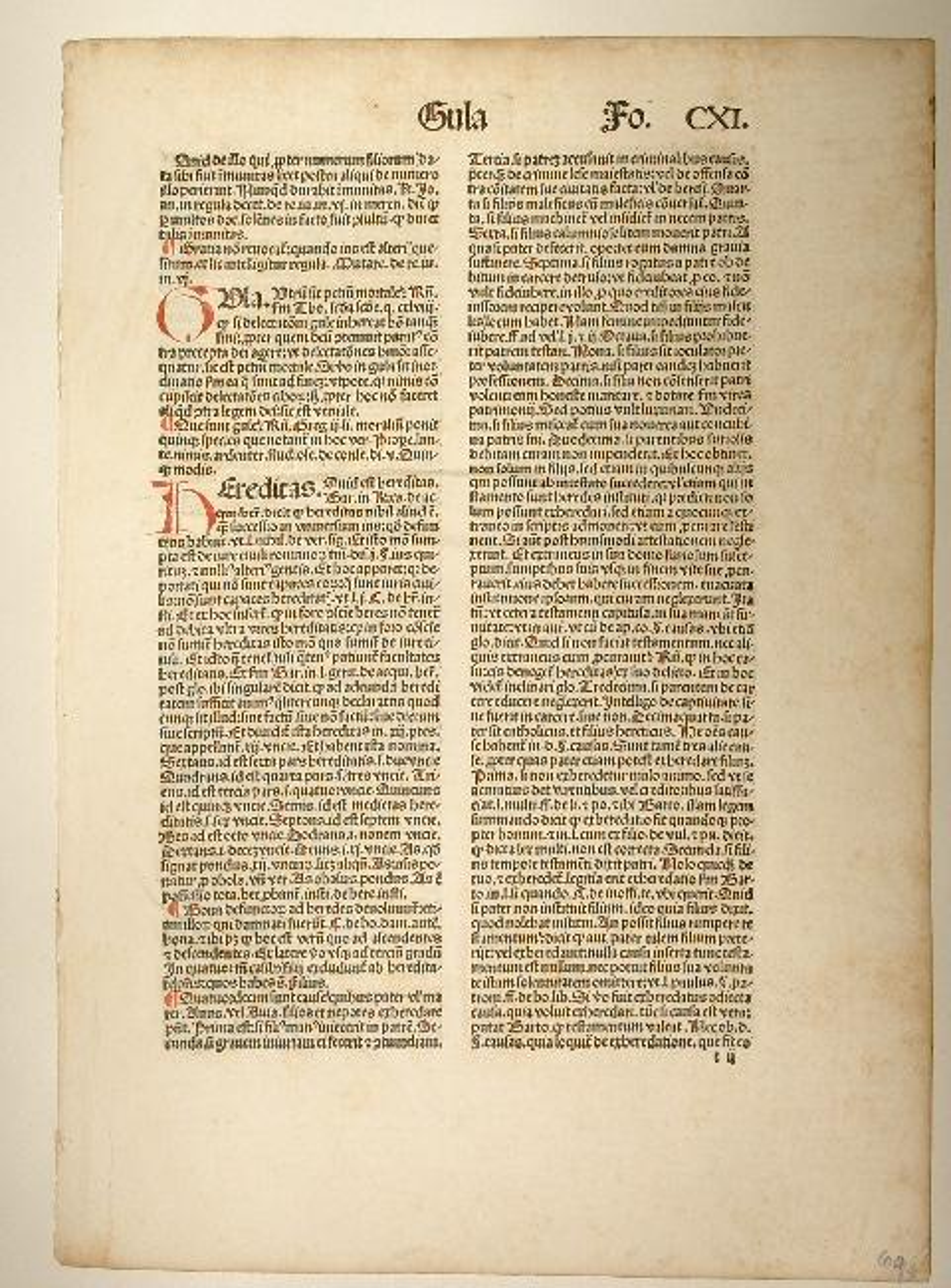 Summa casum conscientiae (GW 3322, Hain 14181).: Baptista de Salis: