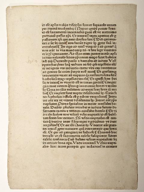 Postilla super epistolas et evangelia (GW 11931,: Guillelmus Parisiensis: