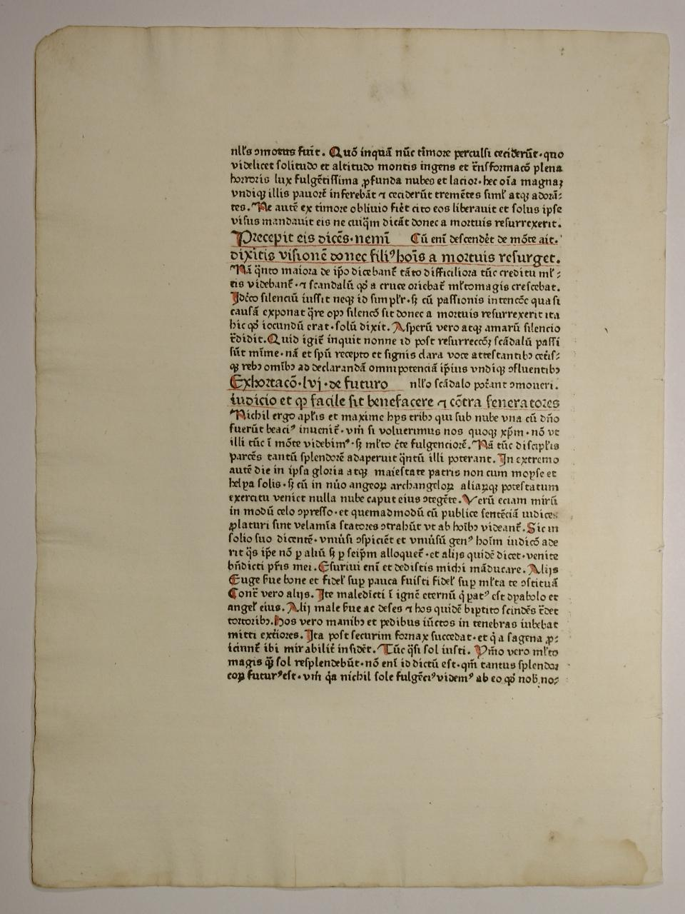 Homiliae super Matthaeum, de graeco in latinum: Johannes Chrysostomus: