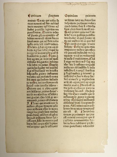 Praeceptorium divinae legis. (GWM 26909, H 11792).: Johannes Nider: