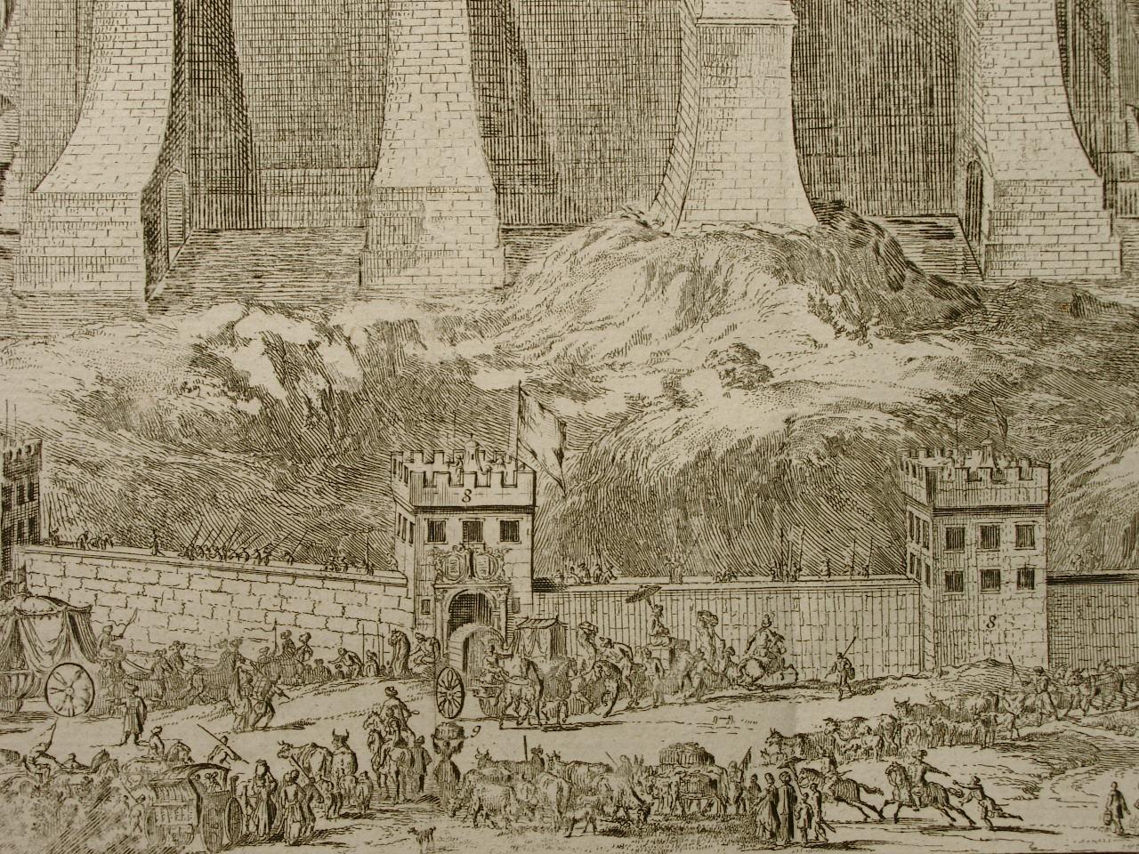 Ansicht des Temple de Jerusalem (Tempel von: Romeyn de Hooge
