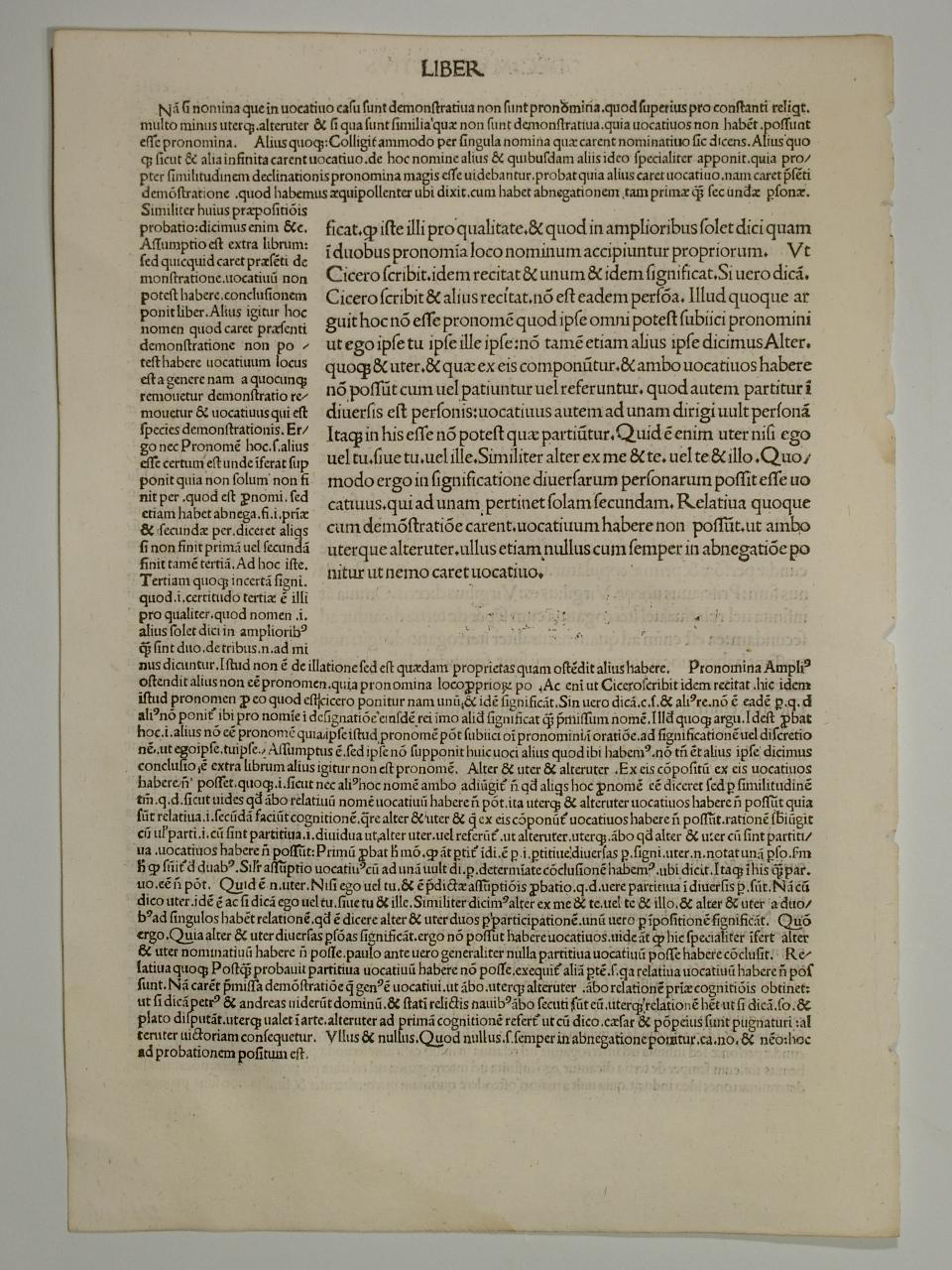 Opera. Mit Komm. Von Johannes de Aingre.: Priscianus Lydus: