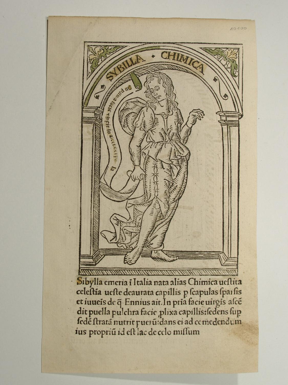 Discordantiae sanctorum doctorum Hieronymi et Augustini: Sibylla: Philippus de Barberiis: