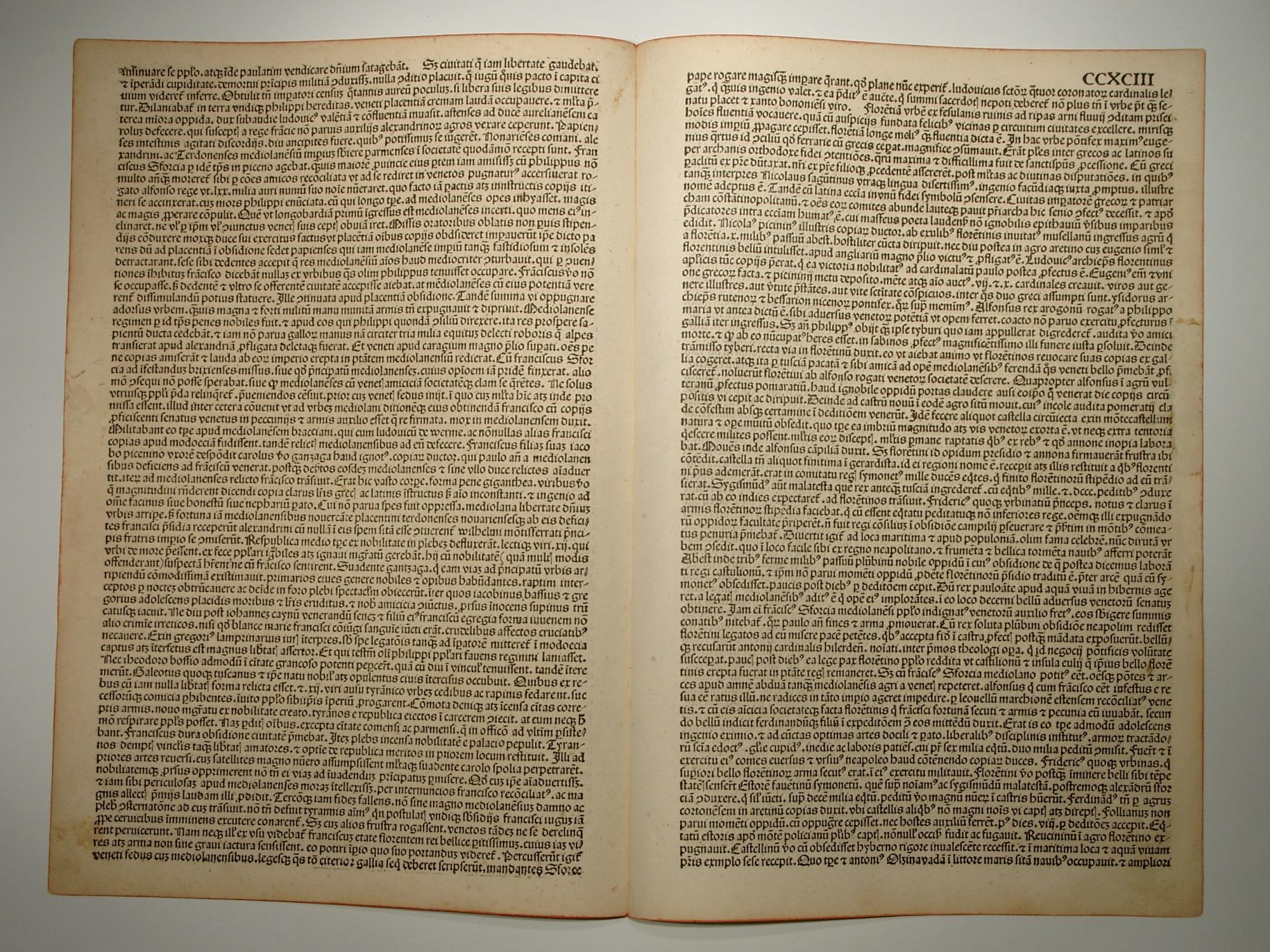 Liber chronicarum, Folium CCXCI und CCXCIII. (Holzschnitte: Hartmann Schedel: