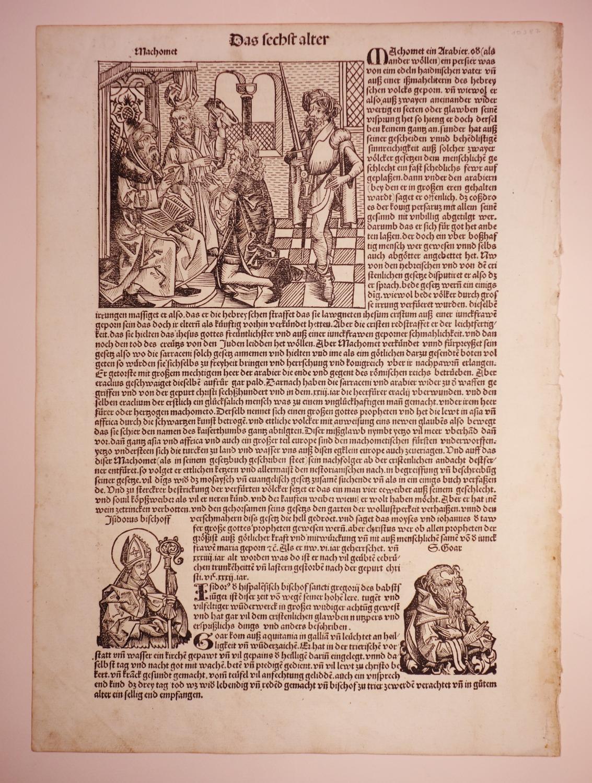 Über Mohamed, einen Komet zu Konstantinopel und: Hartmann Schedel: