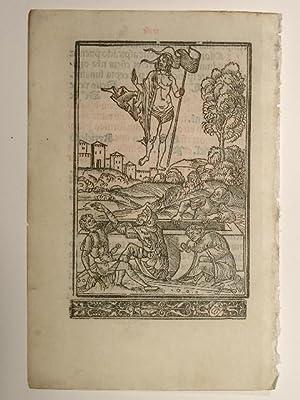 Auferstehungsszene aus: Giunta Missale secundum usum Carmelitarum.: Giunta; Benedetto Bordon