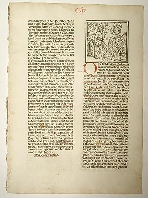 Legenda aurea sanctorum, sive Lombardica historia, deutsch: Jacobus de Voragine: